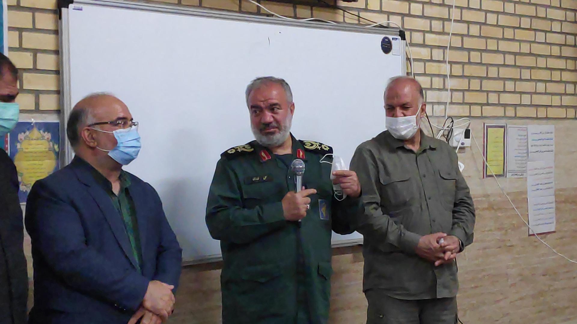 بازدید سرزده جانشین فرماندهی سپاه پاسداران انقلاب اسلامی از اردوگاه کرامت مبارکه