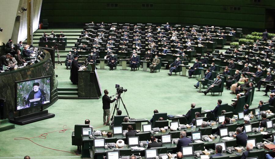 فوری   ترکیب تیم رئیسی مشخص شد   نه مجلس به باغگلی   بیشترین رای بهارستان نشینان در سبد وزیران سیاسی و امنیتی