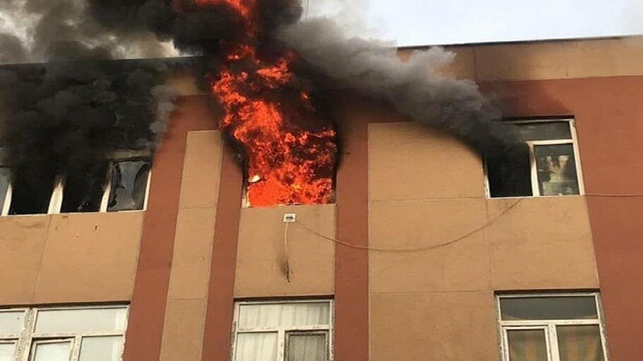 مهار آتش سوزی منزل مسکونی در محله صفائیه