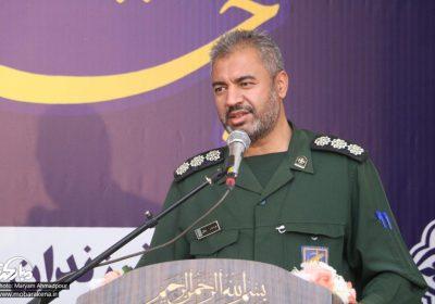 پیام فرمانده ناحیه مقاومت بسیج شهرستان مبارکه به مناسبت حماسه حضور مردم در انتخابات
