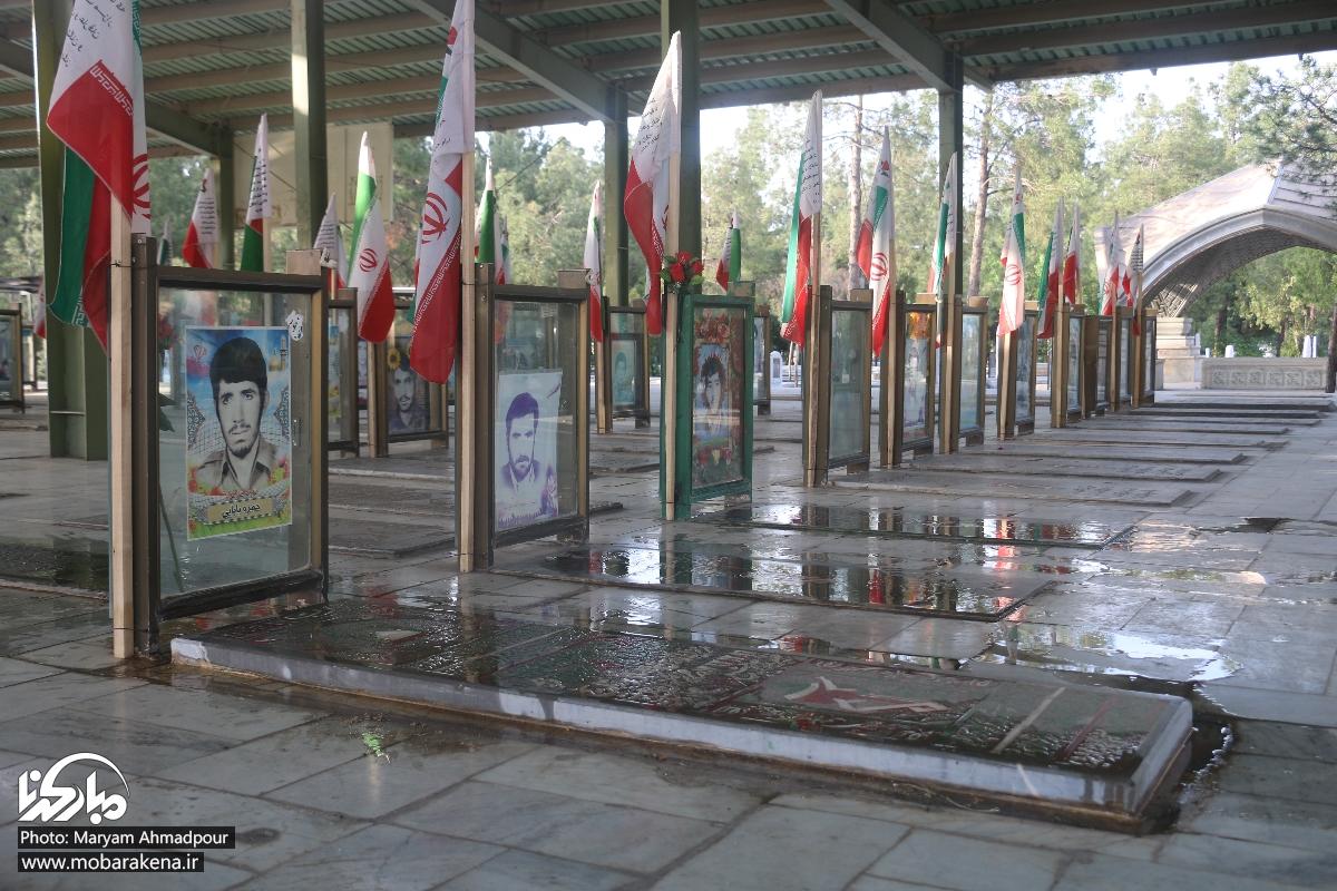 تصاویر مبارکه شهر حماسه و ایثار