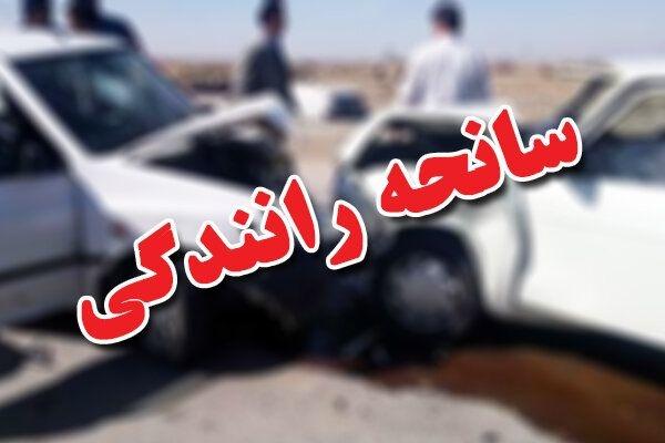 تصادف مرگبار پژو در محور مبارکه به شهرضا