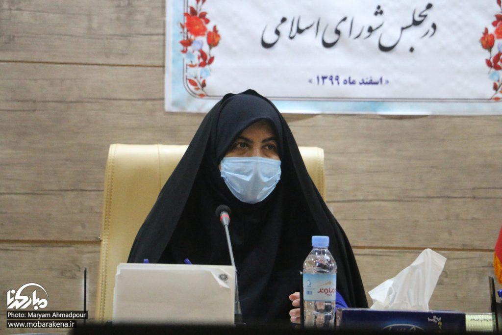 مکاتبات نماینده مبارکه برای توقف اجرای احکام قلع درختان مثمر نکوآباد
