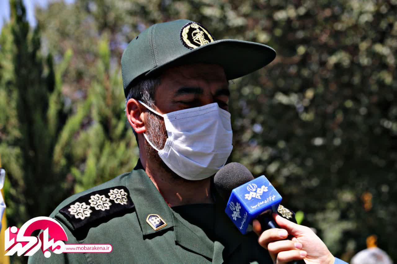 بیانیهٔ فرمانده سپاه شهرستان مبارکه در خصوص هفته بصیرت
