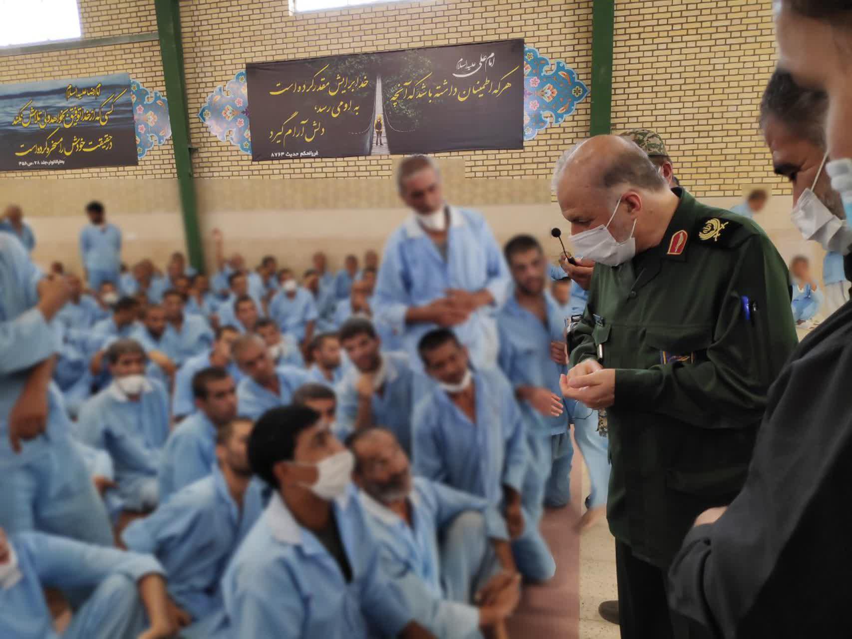 گزارش تصویری بازدید فرمانده سپاه صاحب الزمان (عج) سردار فدا از اردوگاه کرامت استان اصفهان